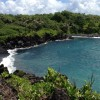 Aloha Friday Photo: Waianapanapa black sand beach along the road to Hana