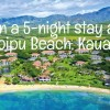 Win a Kauai stay at Outrigger Kiahuna Plantation resort!