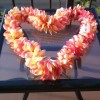 Aloha Friday Photo: Heart-Shaped Plumeria Lei