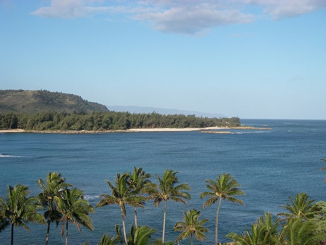 Great ocean views from Turtle Bay Resort