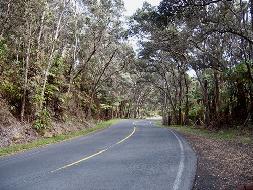 crater rim drive in hawaii volcanoes national park