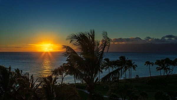 kaanapali sunset from Westin