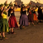 hula dancers on kaanapali