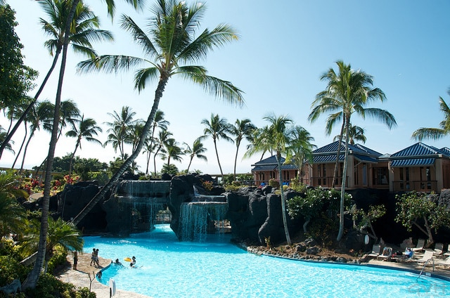 Hilton Waikoloa Pool where Duck Dynasty lounged