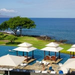 Infinity pool at Wailea Beach Marriott Resort & Spa