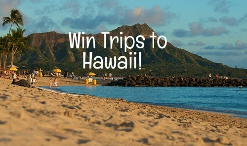 win trips to hawaii