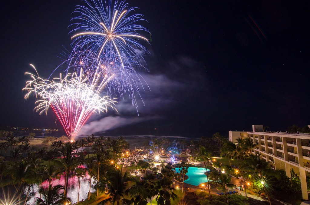 New Year's Eve at Mauna Lani Bay Hotel and Bungalows. Photo courtesy of the resort.