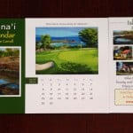 lanai hawaii desk calendar