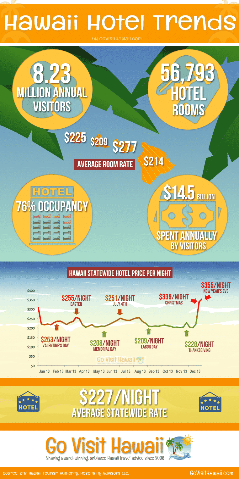 Go Visit Hawaii Travel Infographic