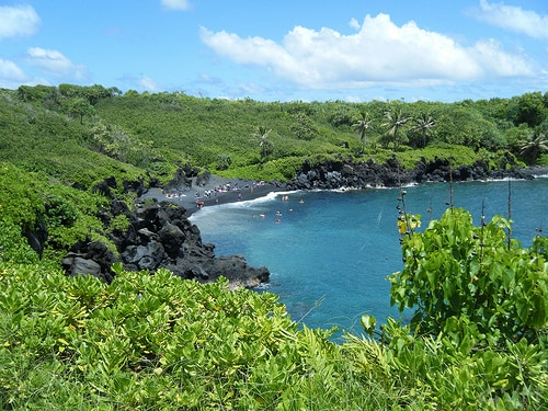 road to hana scenery