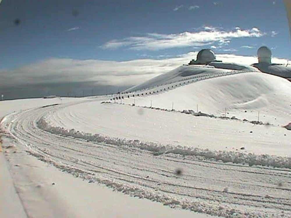 Snow Tops Hawaii S Mauna Kea Go Visit Hawaii