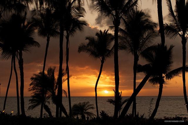Sunset view from Humuhumu