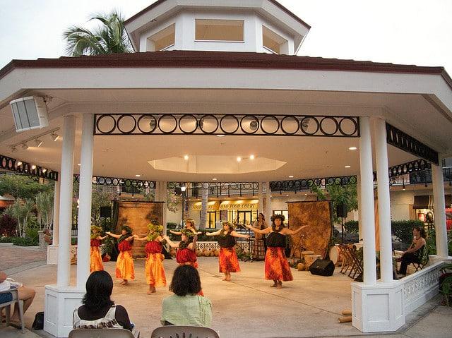 Free Hawaii hula show