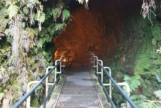 Taking a walk through Thurston Lava Tube in Hawaii Volcanoes National Park is a unique experience.
