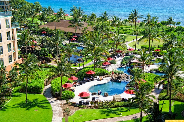 The ocean front playground for kids of all ages at Honua Kai