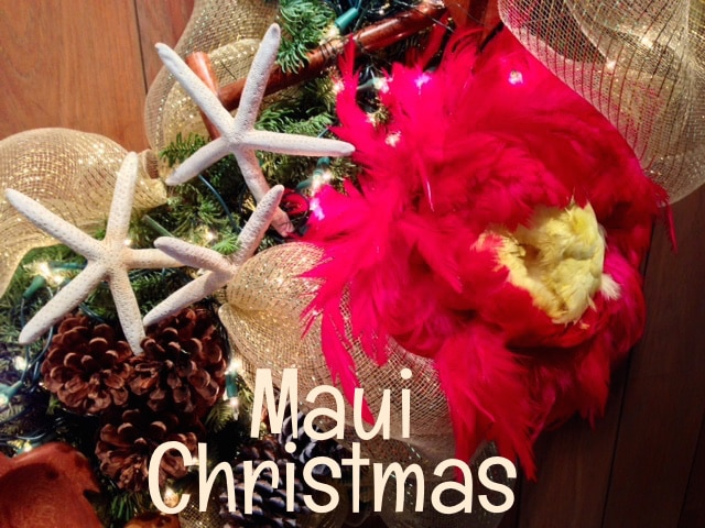 Christmas In Hawaii Decorations.Maui Christmas 2018 Special Holiday Events Things To Do
