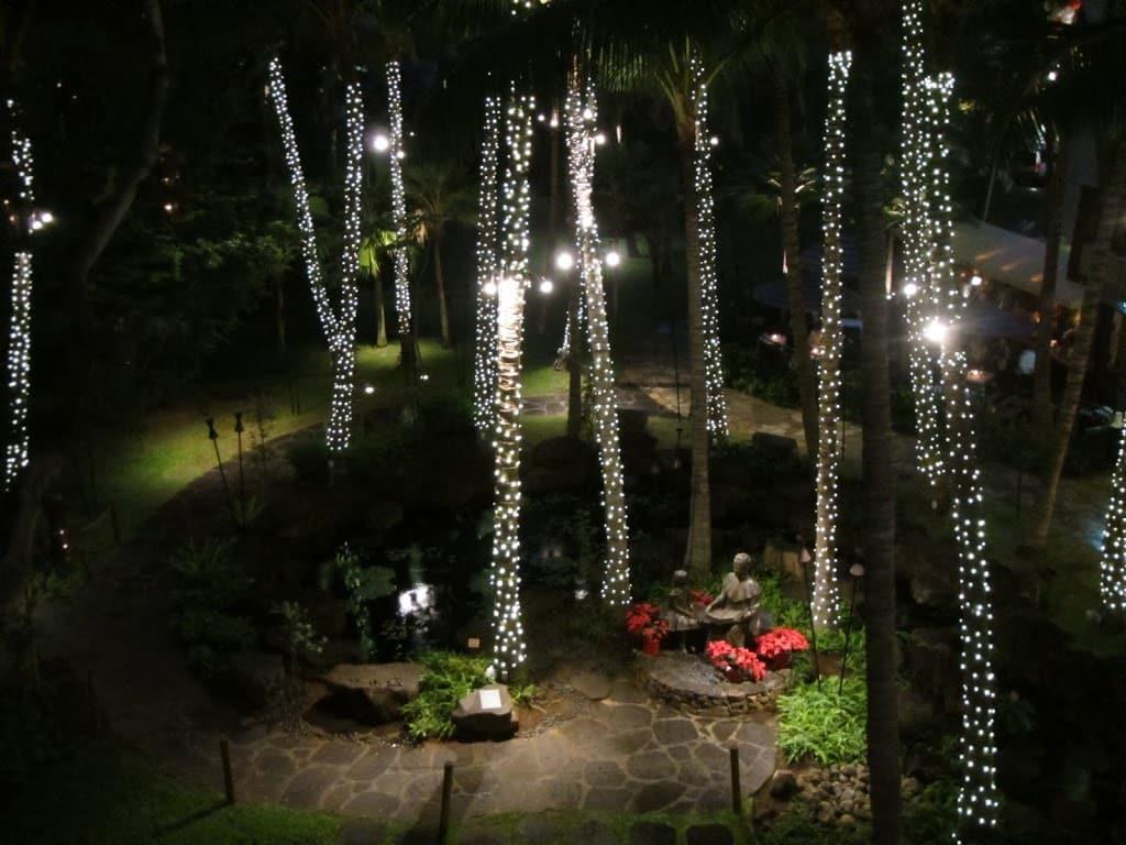 waikiki christmas lights 2 photo by Christine Campbell