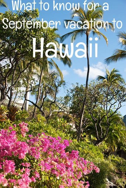 september in hawaii