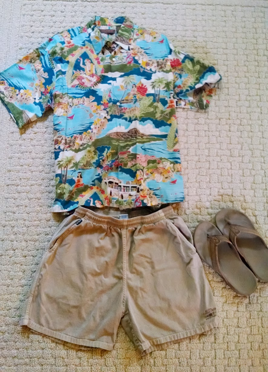 976d9503b531e What men should wear on vacation in Hawaii? Suggested packing list [with  photos]