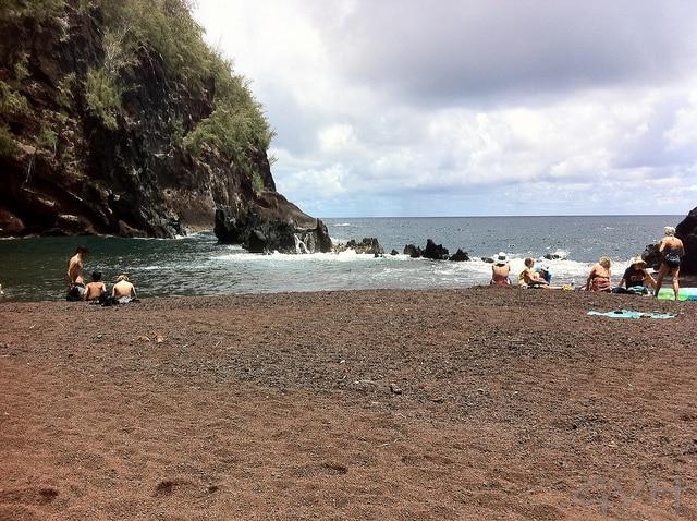 Kaihalulu Beach, Hana, Maui
