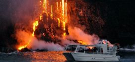 Aloha Friday Photo: Lava flowing into the Ocean