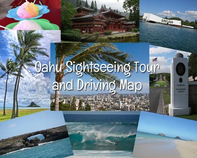 Oahu-Driving-Map