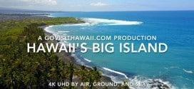 Hawaii's Big Island – stunning 4k video of volcanoes, beaches, lava, and turtles!