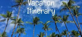 One week vacation itinerary & travel planner for the Big Island of Hawaii