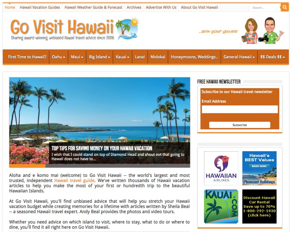 go visit hawaii - hawaii travel guide & vacation advice