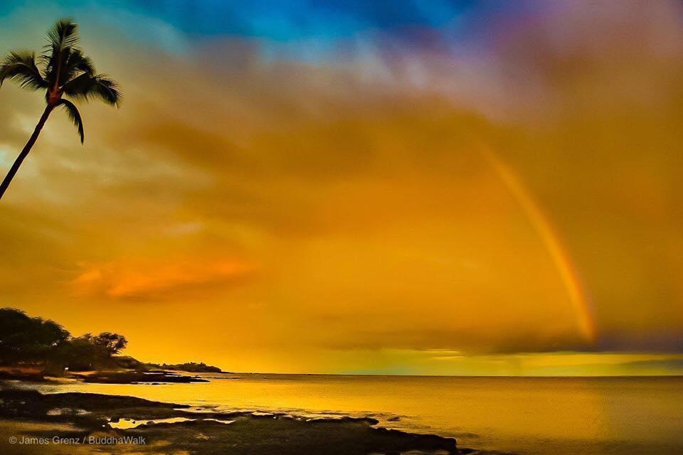 Aloha Friday Photo: Stunning Anaeho'omalu Bay Sunrise Bow - Go Visit